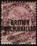 ~~~ Commonwealth Bechuanaland 1891 - Queen VIC  - Mi. 40 (o)  ~~~ - Bechuanaland (...-1966)