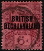 ~~~ Commonwealth Bechuanaland 1891 - Queen VIC  - Mi. 43 (o)  ~~~ - Bechuanaland (...-1966)