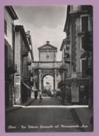 Chieri - Via Vittorio Emanuele Col Monumentale Arco - Italia