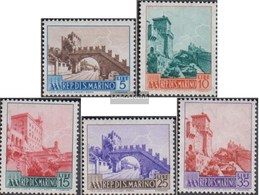 San Marino 530-534 (complete Issue) Unmounted Mint / Never Hinged 1955 Clear Brands - Landscapes - San Marino