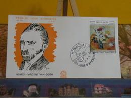Vincent Van Gogh - Monaco - 4.5.1970 FDC 1er Jour N°224 - - FDC