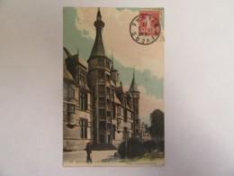 Nevers N°89 - Palais Ducal (Aile Droite) - Carte Couleur Animée (femme) Circulée En 1913 - Nevers