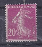 FRANCE Type Semeuse Fond Plein N° 139a ** - 1906-38 Semeuse Camée
