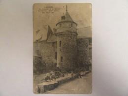Lannion - La Tourelle De La Maison Vermerrien - Carte Animée, Circulée En 1918 - En L'état - Lannion
