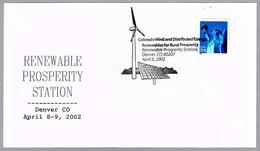 RENEWABLES ENERGIES FOR RURAL PROSPERITY. Energias Renovables. Denver CO. 2002 - Protección Del Medio Ambiente Y Del Clima