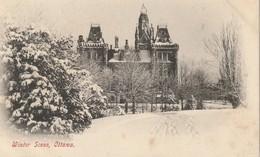 Winter Scene, Ottawa, Ontario Scene De L'hiver - Ottawa