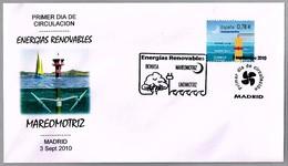 ENERGIAS RENOVABLES - MAREOMOTRIZ. RENEWABLE ENERGIES - TIDAL POWER. SPD/FDC Madrid 2010 - Protección Del Medio Ambiente Y Del Clima