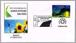 AÑO INT. DE LA ENERGIA SOSTENIBLE PARA TODOS - Sustainable Energy. SPD/FDC Madrid 2012 - Protección Del Medio Ambiente Y Del Clima