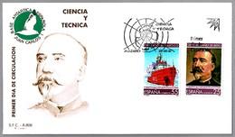 TRATADO ANTARTICO - ANTARTIC TREATY - General Ibañez De Ibero. SPD/FDC Madrid 1991 - Events & Commemorations