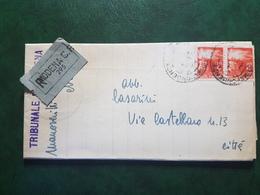 (16120) STORIA POSTALE ITALIA 1946 - 6. 1946-.. Repubblica
