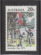 M12- AUSTRALIE PO649 ** MNH De 1979 - Captain COOK - ENVOI Des COULEURS - Baie De Sydney Le 20.1.1788 - - 1966-79 Elizabeth II