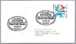 VAGON POSTAL - POSTAL WAGON - BAHNPOST. Losheim Am See 2000 - Correo Postal