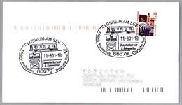 FIESTA DEL FERROCARRIL - VAGON POSTAL - POSTAL WAGON. Losheim Am See 2001 - Correo Postal
