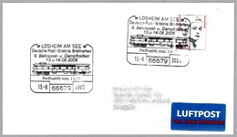 VAGON POSTAL PWPOST4I De 1933 - POSTAL WAGON. Losheim Am See 2005 - Correo Postal