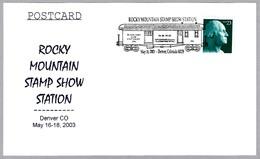 VAGON POSTAL - POSTAL WAGON. Denver CO 2003 - Correo Postal