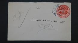 Turquie Entier Postal Yalova 1914 Voyagé , Postal Stationery From Yalova Turkey Used - 1858-1921 Empire Ottoman