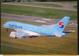Airbus A380-800 Korean Air Airlines Aviation Aereo A380 Avion Aircraft A.380 Aviation A 380 Aerei - 1946-....: Era Moderna