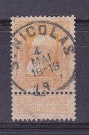 Belgique, N° 79,oblitération Centrale ST NICOLAS, Cote 10€ ( W1912/018) - 1905 Grosse Barbe
