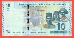 Bolivia 2018. 10 Bolivianos. UNC. - Bolivia