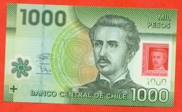 Chile  2018. 1000 Pesos. Plastic.UNC. - Chili