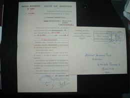 LETTRE SERVICE DEPARTEMENTAL DE L'ENSEIGNEMENT DU 1er DEGRE TIARET OBL.MEC.27-1 1962 TIARET - Algérie (1924-1962)