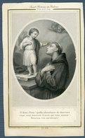 °°° Santino - S. Antonio Da Padova Stampina Antica °°° - Religione & Esoterismo