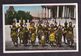 CPSM CAMBODGE - PHNOM-PENH - Groupe De Danseuses - TB PLAN TB PORTRAIT FEMMES - Cambodia