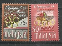 IVERT Nº56/57**1968 - Malasia (1964-...)