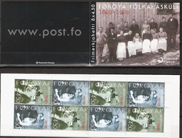 Faroe Islands 2000 100 Years Of The Faroese Folk High School, Booklet Mi 372-373  In MH 18 MNH(**) - Féroé (Iles)