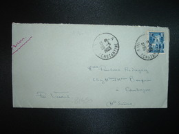 LETTRE TP 15F OBL.26-5 1955 AIN-M'LILA CONSTANTINE - Algérie (1924-1962)