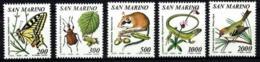 San Marino Nº 1252/56 En Nuevo - San Marino