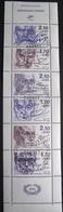 R1624/386 - 1985 - CELEBRITES - BANDE (pliée) N°BC2360A Avec 3 Cachets 1er Jour Du 23 FEVRIER 1985 - France
