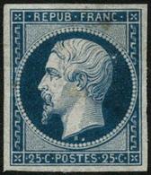 * N°10 25c Bleu, RARE - TB - 1852 Luigi-Napoleone