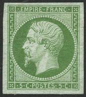 ** N°12 5c Vert - TB - 1853-1860 Napoleone III