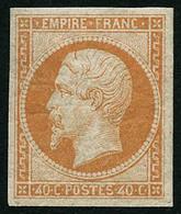 ** N°16 40c Orange - TB - 1853-1860 Napoléon III