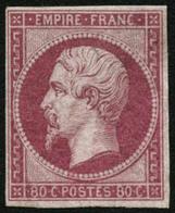 ** N°17B 80c Rose - TB - 1853-1860 Napoléon III