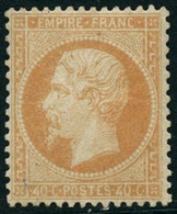 ** N°23 40c Orange, Pièce De Luxe Signé Calves - TB - 1862 Napoléon III