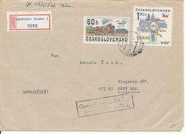 Czechoslovakia Registered Cover 25-5-1978 Topic Stamps - Czechoslovakia