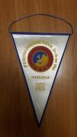 Football PENNANT UEFA U-18 European Under 18 Cup Championship 1966 66 Yugoslavia Championnat D'Europe Des Moins De 18 - Apparel, Souvenirs & Other