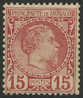 ** N°5 15c Rose, Luxe - TB - Monaco