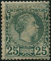 ** N°6 25c Vert - TB - Monaco