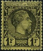 ** N°9 1F Noir S/jaune - TB - Monaco