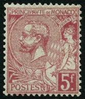 ** N°21 5F Rose Vif S/verdâtre - TB - Monaco
