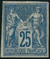 * N°35 25c Bleu, Qualité Standard - B - Francia (vecchie Colonie E Protettorati)