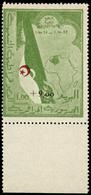 ** N°363A + 9F Sur 1F Vert Et Rouge - TB - Algeria (1924-1962)