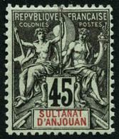 * N°14/9 Les 6 Val - TB - Anjouan (1892-1912)