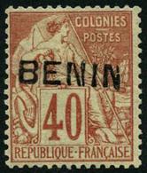 * N°11 40c Rouge Orange - TB - Benin (1892-1894)