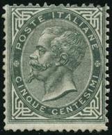 ** N°14 5c Gris Vert - TB - Italia