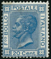 ** N°23 20c Bleu - TB - Italia