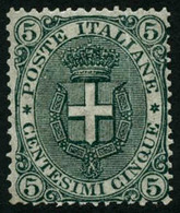 * N°57 5c Vert - TB - Italia